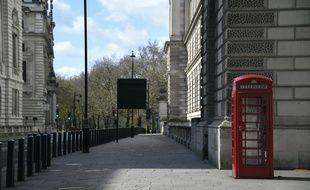 En plein confinement, une rue vide de Londres, le 29 mars 2020.