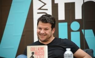 Guillaume Musso, écrivain, au Forum Fnac Livres 2016 le  2 septembre 2016 à Paris