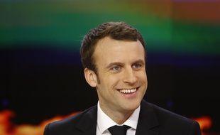 Emmanuel Macron au JT de France 2