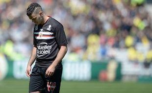 Hatem Ben Arfa lors de son époque niçoise, le 30 avril 2016.