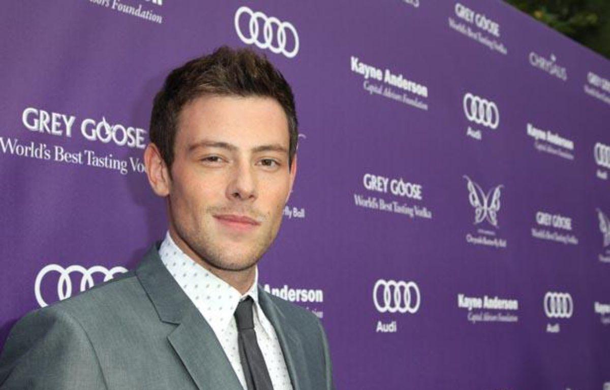 Cory Monteith, l'interprète de Finn dans la série musicale Glee – Jonathan Leibson/GETTY IMAGES NORTH AMERICA