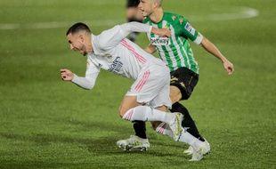 Eden Hazard a fait son retour avec le Real Madrid samedi face au Betis Séville, après trois mois d'absence.