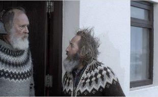 Sigurður Sigurjónsson et Theodór Júlíusson dans Béliers