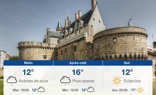 Météo Nantes: Prévisions du lundi 17 mai 2021