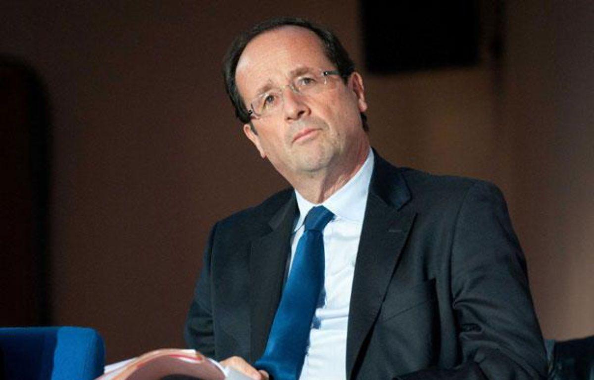 François Hollande à Paris, le 2 février 2012. – DUPUY FLORENT/SIPA