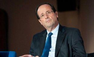 François Hollande à Paris, le 2 février 2012.