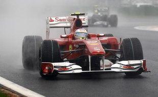 Fernando Alonso a remporté le Grand Prix de Corée du Sud le 24 octobre 2010.