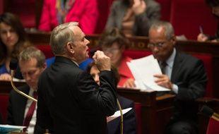 Jean-Marc Ayrault à l'Assemblée nationale le 7 janvier 2013.