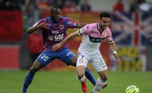 Le nouveau milieu de terrain offensif du FC Nantes Adrien Thomasson.