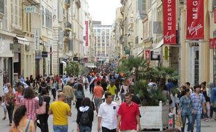 Marseille, le 25 juin 2014, la communauté urbaine propose la rénovation de la rue St Ferreol.