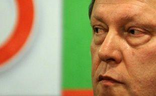 """Le département d'Etat américain s'est dit vendredi """"déçu"""" que la Russie ait disqualifié l'opposant Grigori Iavlinski, candidat du parti démocrate Iabloko à la présidentielle du 4 mars."""