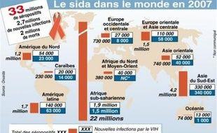 """La conférence mondiale sur le sida, la 17e du genre et la première en Amérique latine, s'est ouverte dimanche soir à Mexico avec des discours vibrants demandant au monde de ne """"jamais abandonner le combat"""" et un engagement de l'Onu à travailler à """"mobiliser les fonds""""."""