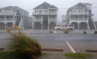 Après le passage de l'ouragan Earl, la ville de Nags Head dans les Outer Banks s'est réveillée sous le vent et la pluie, vendredi 3 septembre