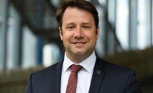 Loïg Chesnay-Girard, président PS sortant de la Bretagne.