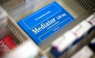 Une boîte de Mediator, des laboratoires Servier.
