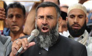 Le prêcheur radical Anjem Choudary, à Londres, en 2012.