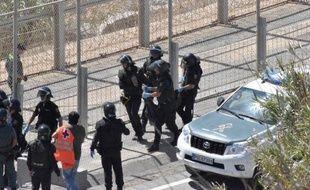 L'enclave espagnole de Ceuta est régulièrement prise d'assaut par les migrants.