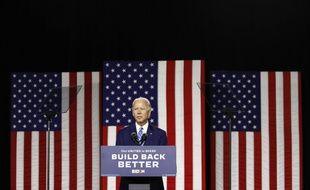 Le candidat démocrate Joe Biden, à Wilmington le 14 juillet 2020.