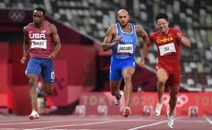 C'est l'heure de la finale du 100m.