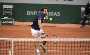 Jérémy Chardy à Roland-Garros le 23 mai 2016.