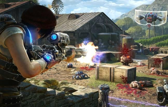 C'est un nouveau studio qui a été en charge du développement de ce Gears of War 4.