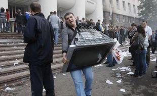 Crise politique en Moldavie après les résultats des élections législatives le 7 avril 2009