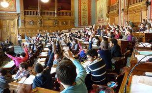 Photo d'illustration - Mardi 29 avril 2014, le Conseil des Paris des enfants a débattu de plusieurs propositions.