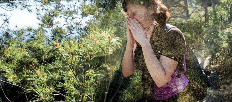 En ce début de juin, tous les département français sont en vigilance rouge et orange pour les allergies au pollen.