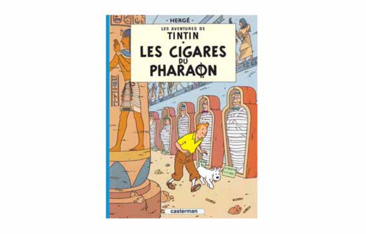 Les cigares du pharaon. – © Hergé/Moulinsart 2015