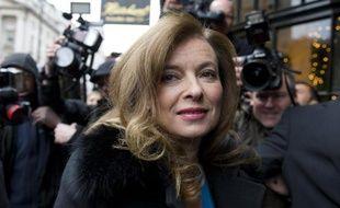 Valérie Trierweiler à Londres le 25 novembre 2014