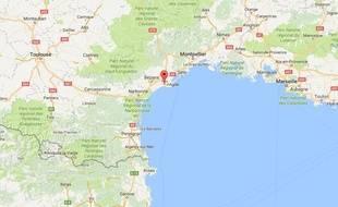 La ville de Vias, dans l'Hérault.