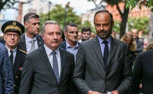 Edouard Philippe à Toulouse, avec le maire Jean-Luc Moudenc.