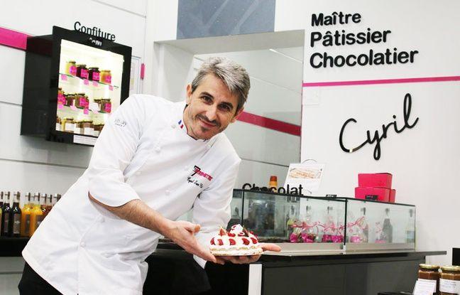 Cyril San Nicolas, maître pâtissier à Bordeaux