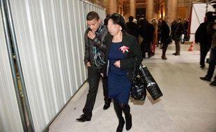 Sofiane Médiouni, (à gauche) l'un des deux accusés, comparait libre.