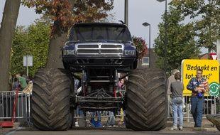 Le Monster truck à l'origine du drame