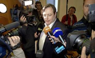 Bart De Wever, leader de l'Alliance flamande, le 18 octobre 2010.