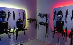 Les équipements du parc en VR Illucity.