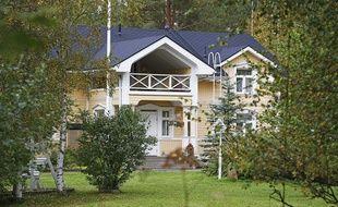 La maison de campagne du Premier ministre finlandais à Kempele.