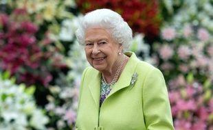 La reine Elizabeth II à Londres, le 20 mai 2019.