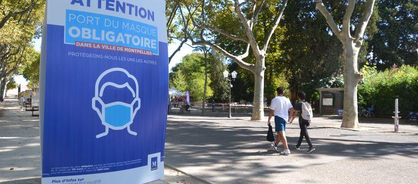 Le port du masque n'est plus obligatoire à l'extérieur dans l'Hérault, sauf dans les lieux bondés (Illustration)