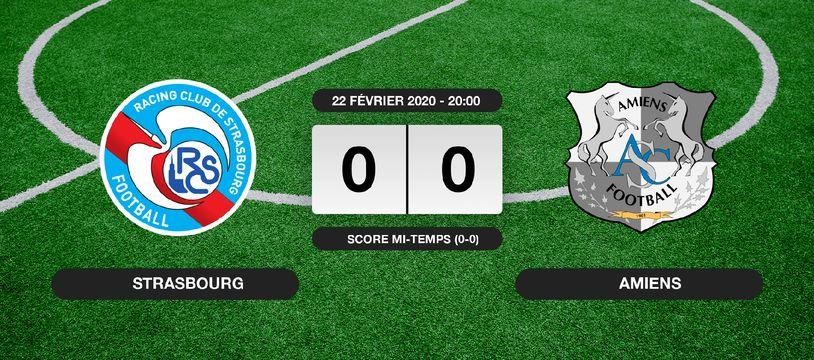 RC Strasbourg - Amiens: Le RC Strasbourg et Amiens font match nul 0-0