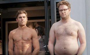 Zac Effron et Seth Rogen dans le film «Neighbors».