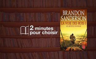 «Les Archives de Roshar» par Brandon Sanderson chez Le Livre de poche (992 p., 9,90€).