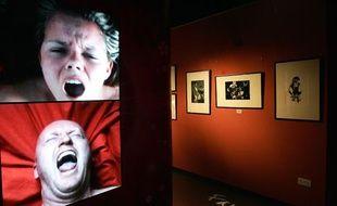 Une exposition à Londres en 2007 montrant des personnes ayant un orgasme.