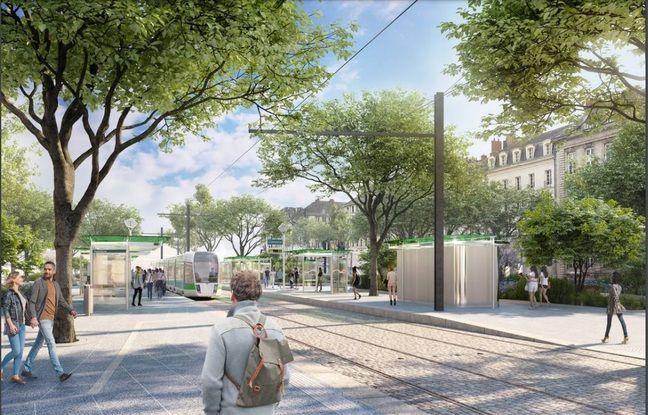 La station Commerce (ligne 1) ressemblera un peu à celle de Duchesse-Anne