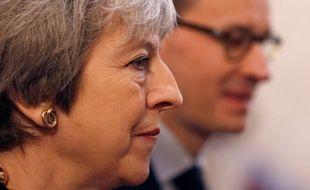 Theresa May à Londres, le 20 décembre 2018.