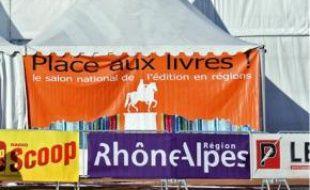 Le Salon du livre à Bellecour, en 2009.