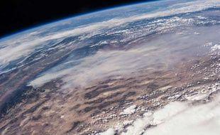 Vue de la Terre depuis la Station spatiale internationale, le 24 août 2013.