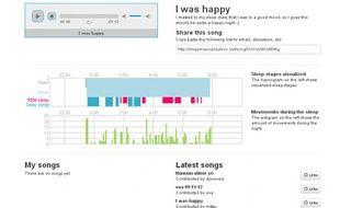 Le logiciel Sleep Musicalization développé par des informaticiens finlandais permet de convertir votre sommeil en musique.