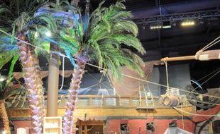 Le restaurant Pirates Paradise prévoit plus de 400 couverts dans un décor féérique.